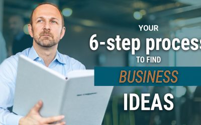 The 6-step process to find the right business idea and make sure it fits to you